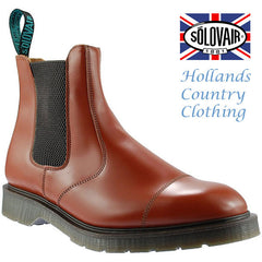 uk made Solovair Cushion Sole Dealer Boots