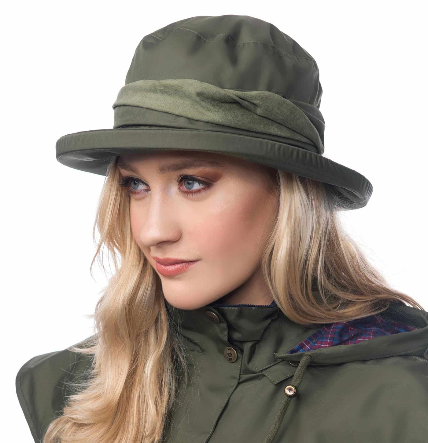 Canterbury Waterproof  Brimmed Hat by Lighthouse