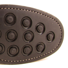 Pimple studs on rubber sole
