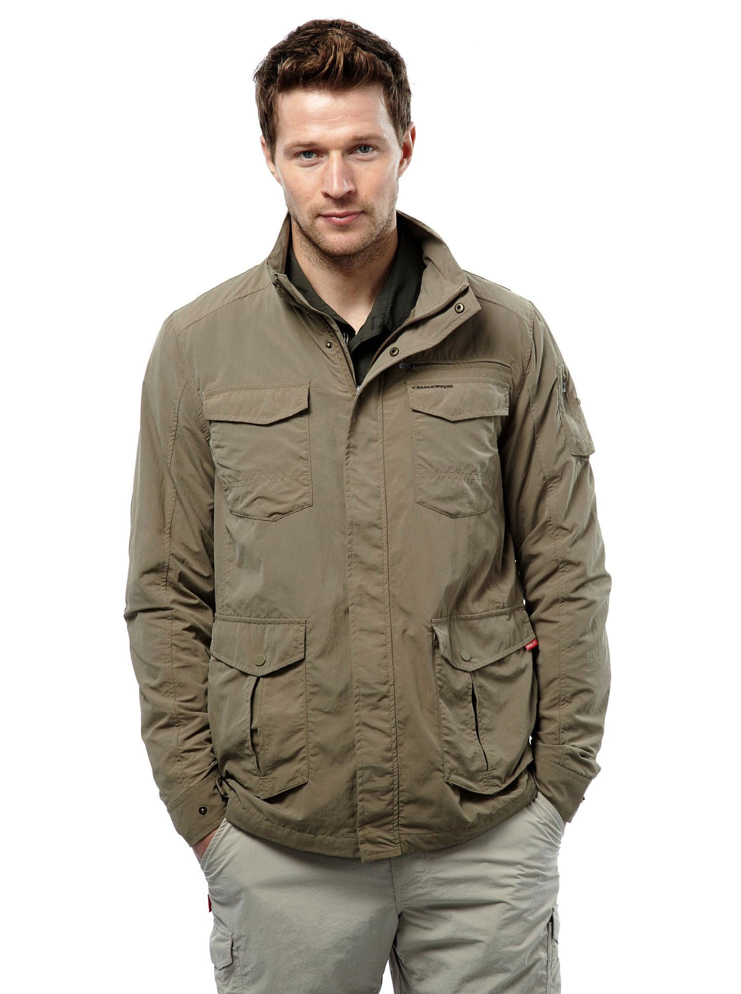 Adventure I Multi-pocket Travel Jacket by Craghoppers