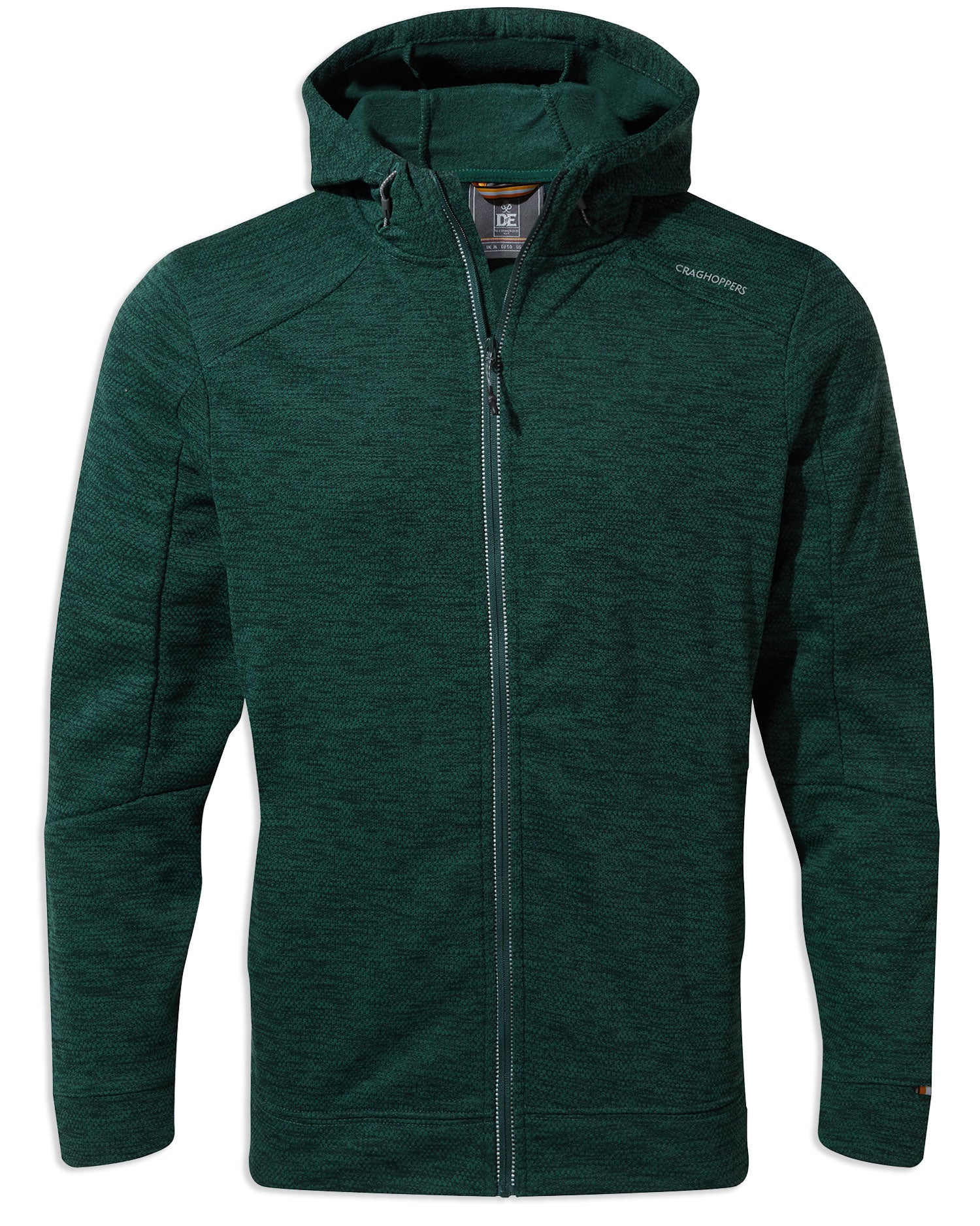 Craghoppers Strata Hoodie | Mountain Green