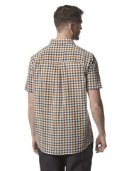 Back view Craghoppers Giovanni Short Sleeved Shirt