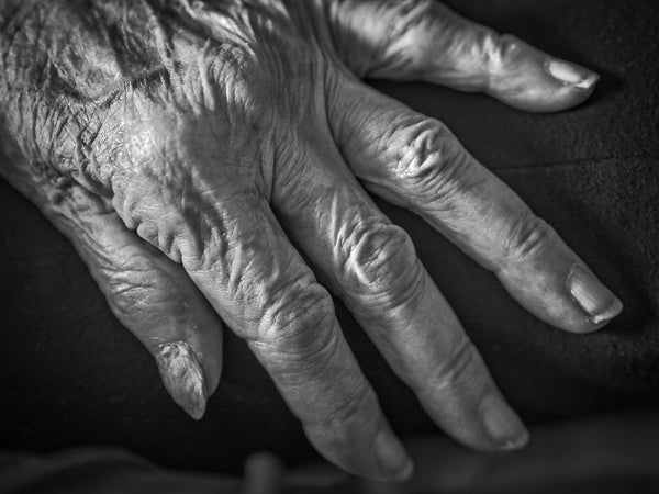 101 Year Old Hand