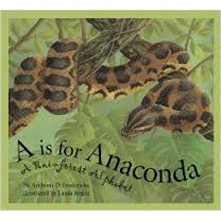 A is for Anaconda Science Alphabet - eBeanstalk