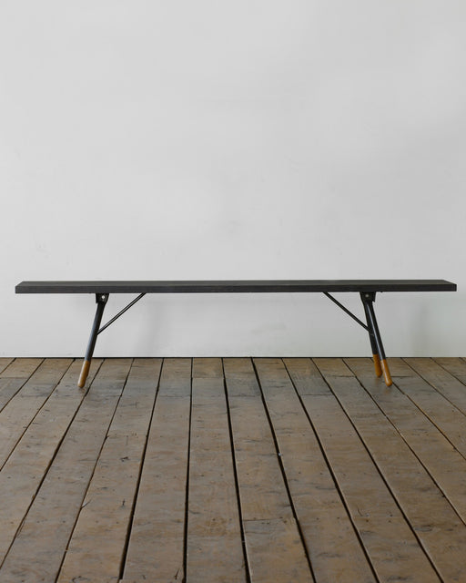 Brandywine Bench  - Darkwash - Seating - Lostine