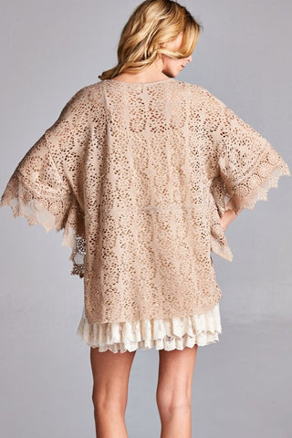 Crochet Babydoll Top - Shop Southern Muse