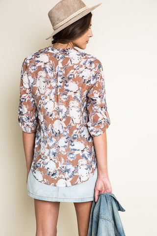 Floral Print Top - Shop Southern Muse