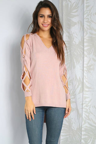 Criss Cross Sweater - Shop Southern Muse