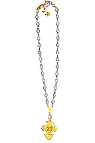 Catherine Page Chanel Arrow Short Necklace - Shop Southern Muse