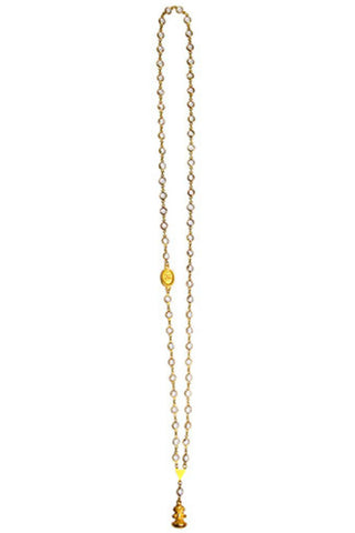 Catherine Page Chanel Fob Long Necklace - Shop Southern Muse