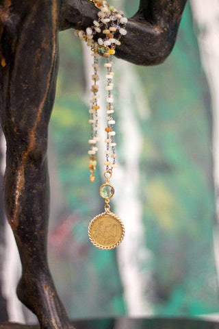 Catherine Page Della Coin Necklace - Shop Southern Muse