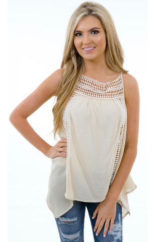 Karlie Boho Tank Top - Shop Southern Muse