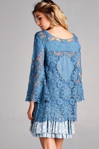 Crochet Tunic Top - Shop Southern Muse