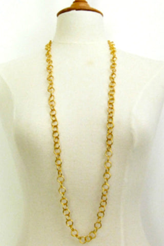 Susan Shaw Long Chain Necklace