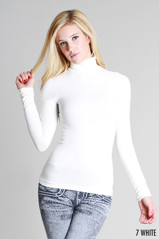 L/S Turtle Neck Layer Top