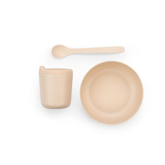 EKOBO | Bamboo Fibre Baby Dish Set (Blush) at Port of Raleigh