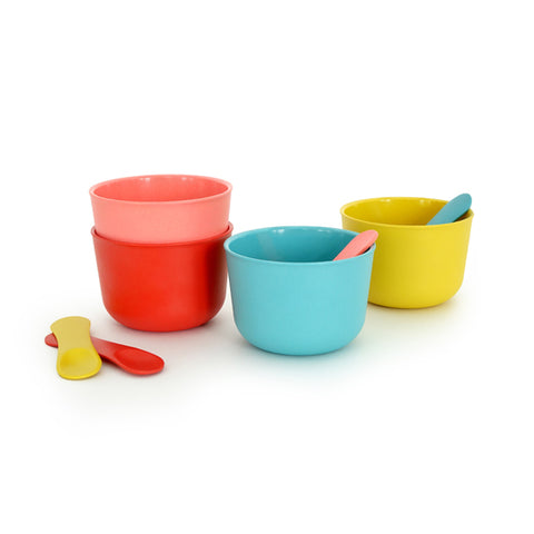 EKOBO | Bamboo Fibre Bambino Ice Cream Set