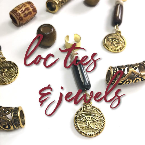 Loc Ties & Loc Jewelry