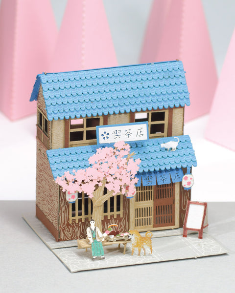Tea House - FingerART Scene of Japan