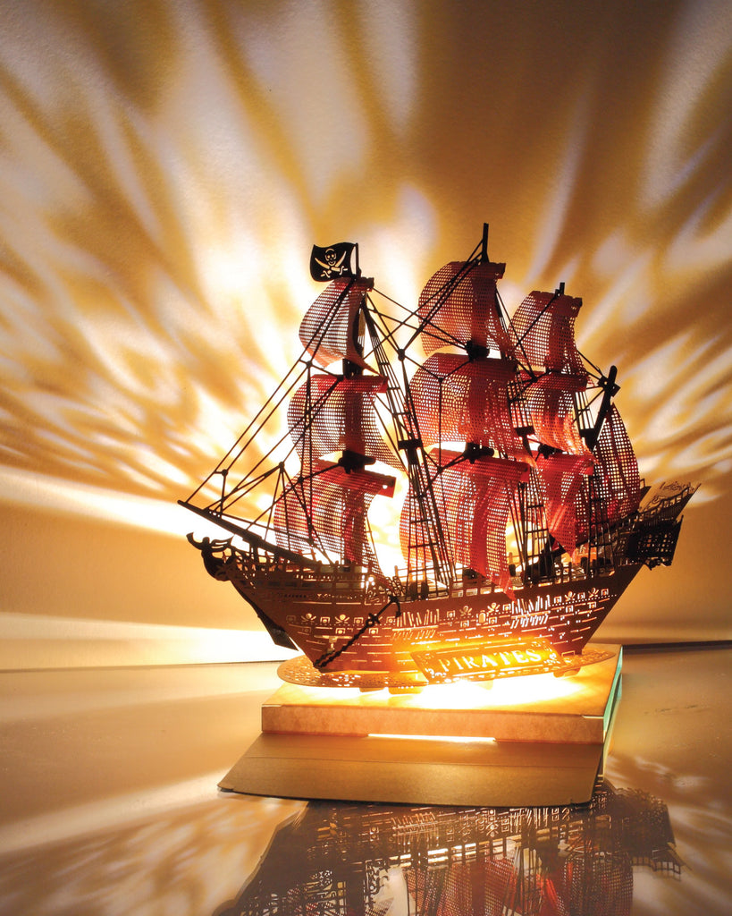 POSTalk Light Model - Pirate Ship (lighting)