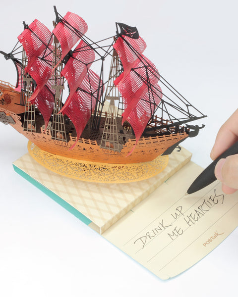 POSTalk Light Model - Pirate Ship sharing