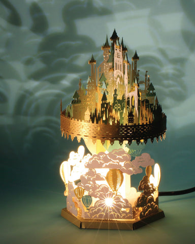 Floating Castle Light Model