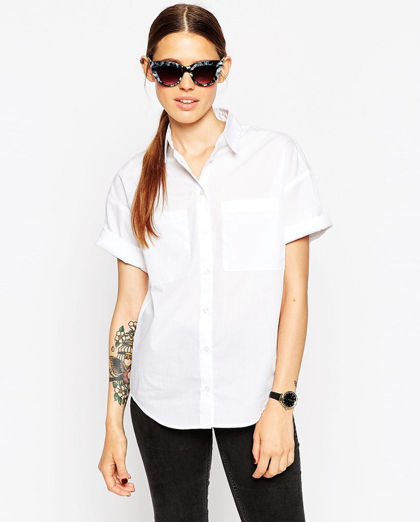 Short Sleeve Shirt with Pockets