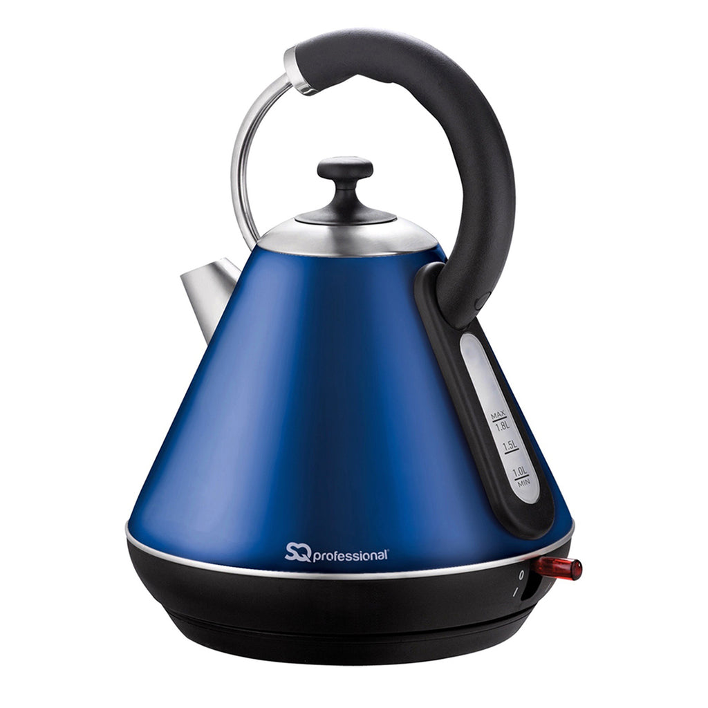 Legacy Cordless Electric Kettle, Fast Boil, 2200 W 1.8 L - Sapphire Blue