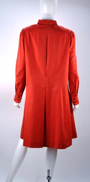 Yves Saint Laurent Red Tent Dress