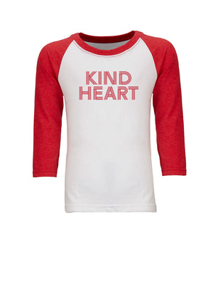 Kind Heart - Youth Raglan