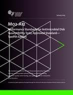 CLSI M02-A12, M07-A10, M100-S26 PACKAGE Performance Standards for Antimicrobial Disk Susceptibility Tests; Approved Standard -Twelfth Edition / Methods for Dilution Antimicrobial Susceptibility Tests for Bacteria That Grow Aerobically; Approved Standard -