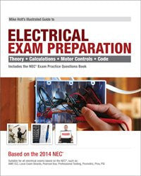 Mike Holt's 2014 Electrical Exam Preparation textbook