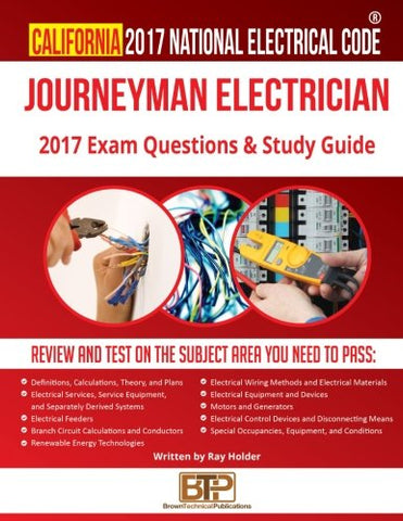 California 2017 Journeyman Electrician Study Guide