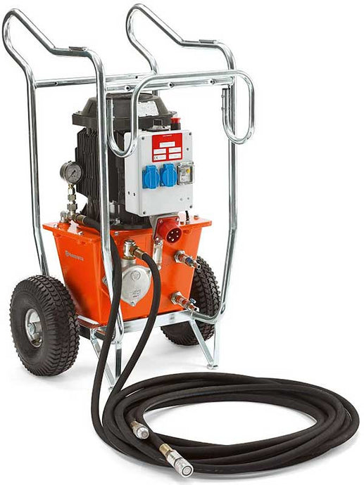 965156406 - Husqvarna PP325E Electric Powered Hydraulic Power Pack Cart