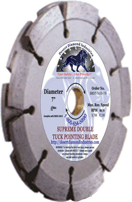 Tuck Pointer - Standard Double Blades