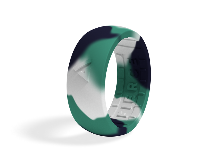 Men's Fierce Ring / Teal Camo