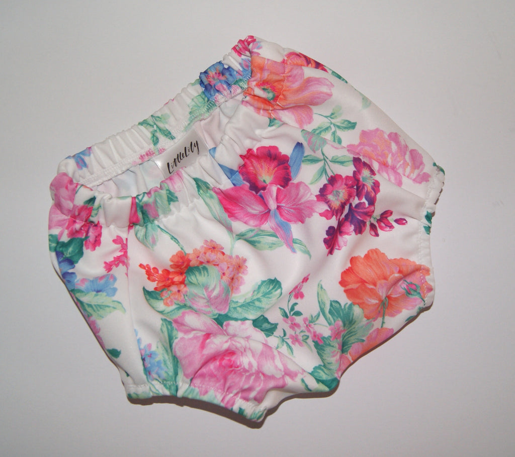 Floral girls bloomers