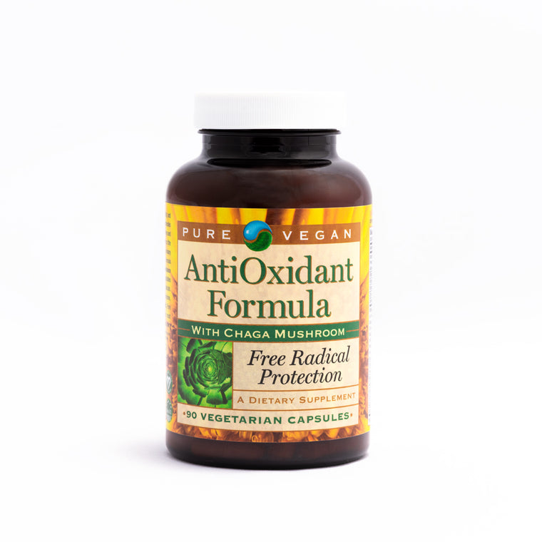 Pure Vegan Anti-Oxidant Caps