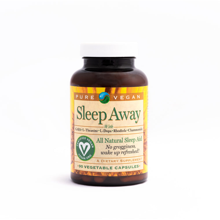Pure Vegan Sleep Away Caps