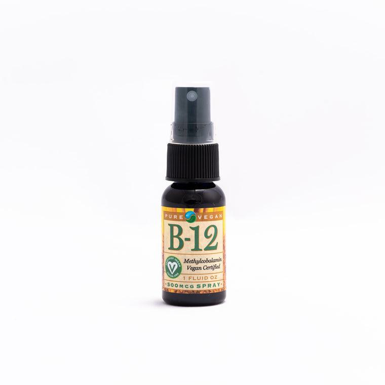 Pure Vegan Vitamin B12 Methylcobalamin Spray