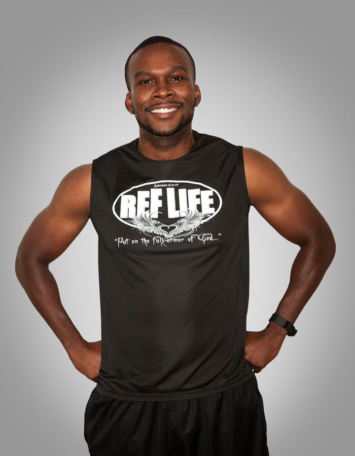 """Full Armor""  Sleeveless (Mens) - Ref Life"