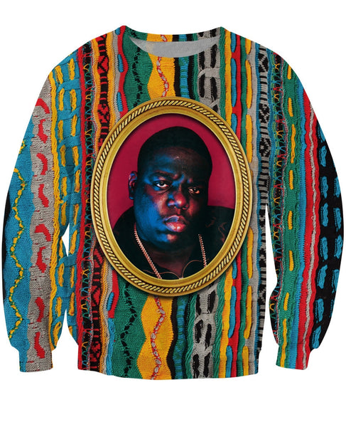 Biggie Crewneck Sweater - SnackBarShop