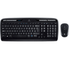 Logitech MK330 Wireless Combo Keyboard + Mouse - Black