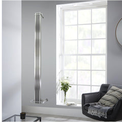 Accuro Korle Cadence Vertical Space Saving Designer Radiator