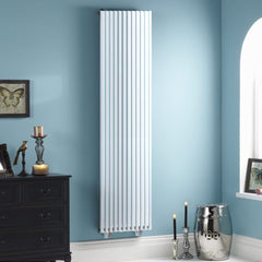 Oxfordshire White Vertical Designer Radiator | High BTU Output Radiator