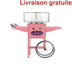 Barbe a Papa / Cotton Candy Machine with Cart - Sports500.com