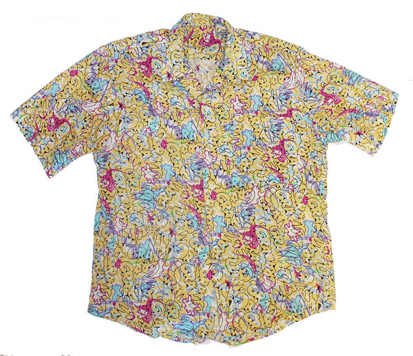 Graffiti Button Up