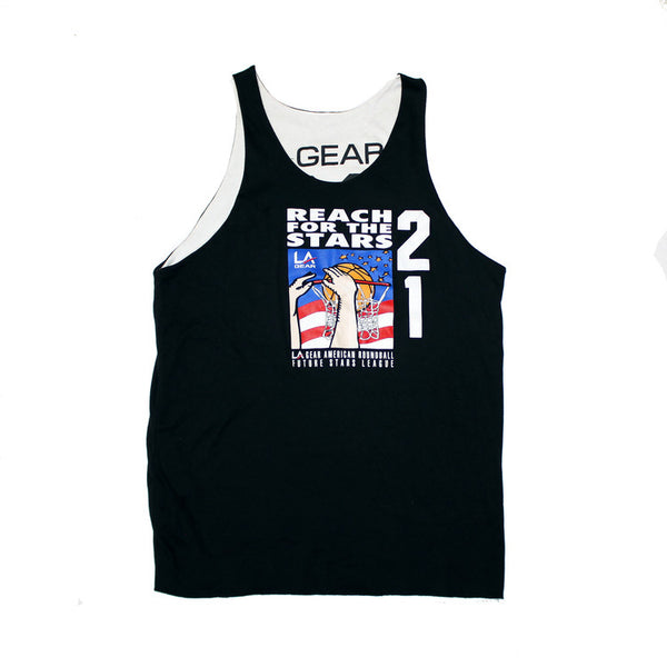 "L.A. Gear ""Reach For The Stars"" Reversible Tank Top (XL)"