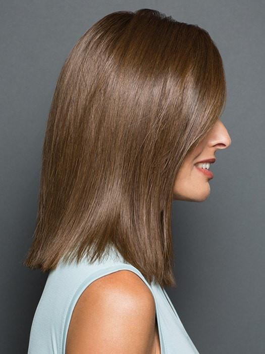 The monofilament base is hand-tied gives you a natural look | Color: R6/30H