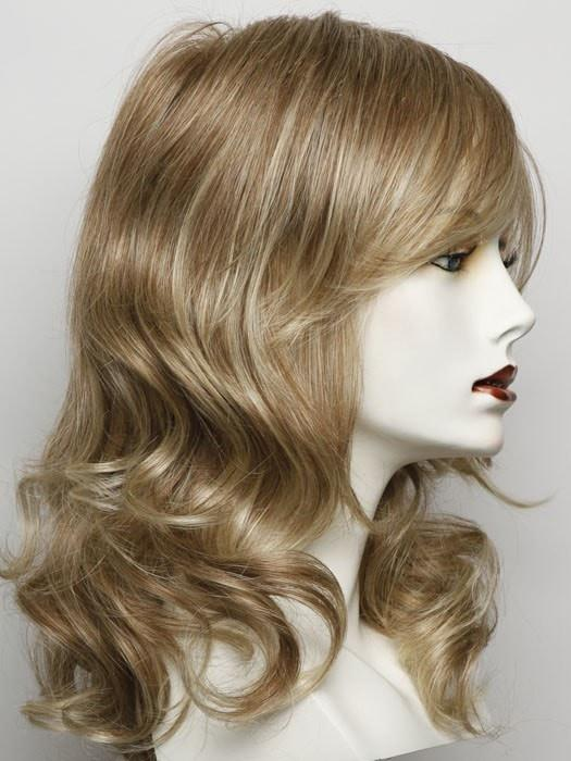 Color RL14/22 = Pale Gold Wheat: Warm Reddish Blonde With Light Blonde Highlights